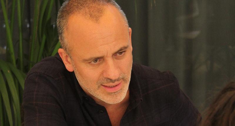 javier gutiérrez 'El autor es una película que va a atrapar al espectador y le va a hacer viajar por varios géneros de una escena a otra'