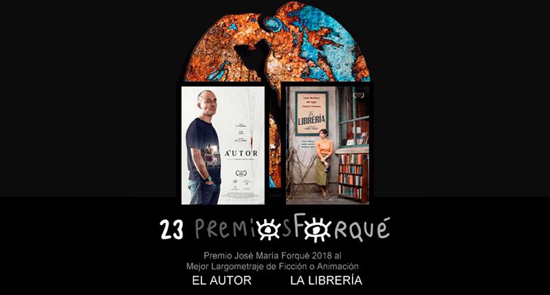 'La librería' y 'El autor', ganadores del premio a la mejor película en los Forqué