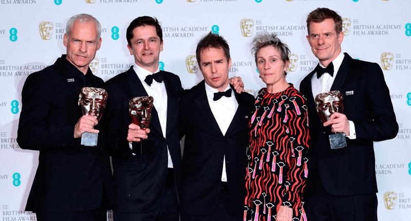 Tres Anuncios en las Afueras gana el BAFTA 2018
