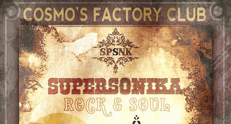 Supersonika, próxima propuesta del Cosmo's Factory Club