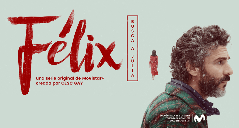 Félix, la nueva serie de Movistar+, compite en CANNESERIES
