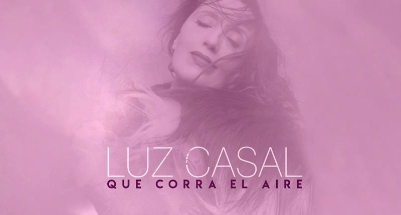 Luz Casal presenta hoy 'Que corra el aire'