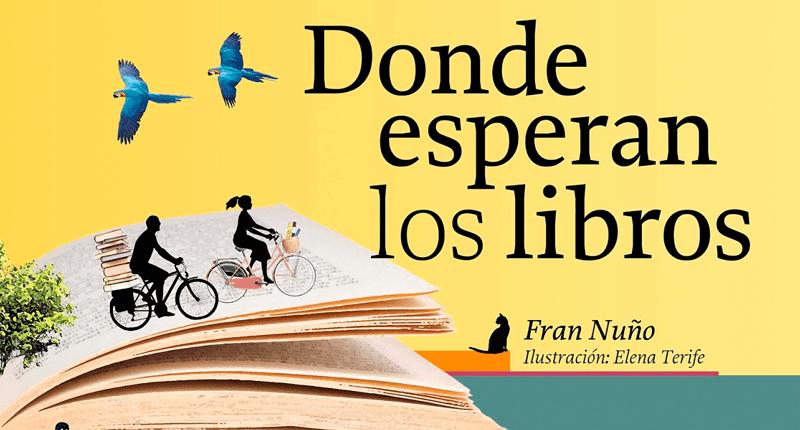 Presentación de 'Donde esperan los libros', de Fran Nuño, en Ciudad de México