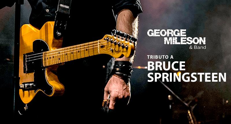 Tributo de George Mileson a Bruce Springsteen en Barcelona