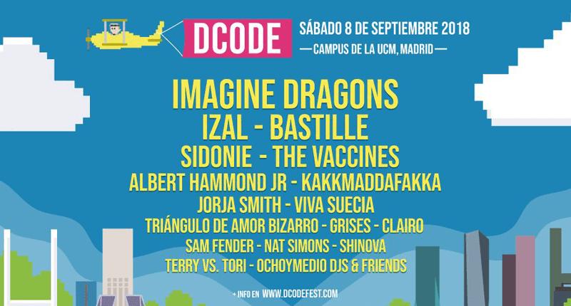 Dcode lanza el cartel de su próxima edición
