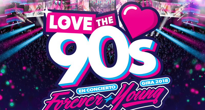 Love the 90's llega este sábado a Sevilla