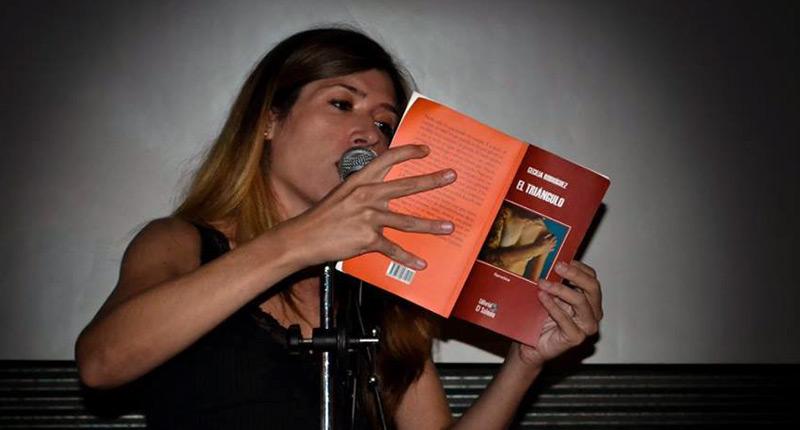 """Cecilia Rodríguez: """"El oficio de escribir me da ganas de vivir, tan necesario como el aire o el agua"""""""