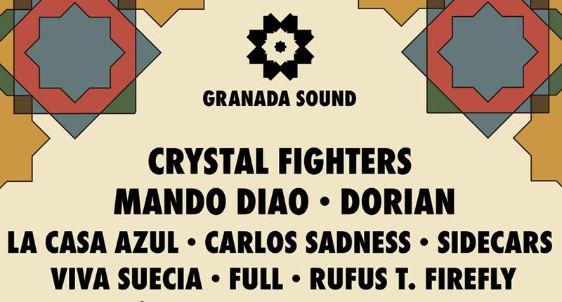 Granada Sound suma cuatro nuevos nombres a su cartel