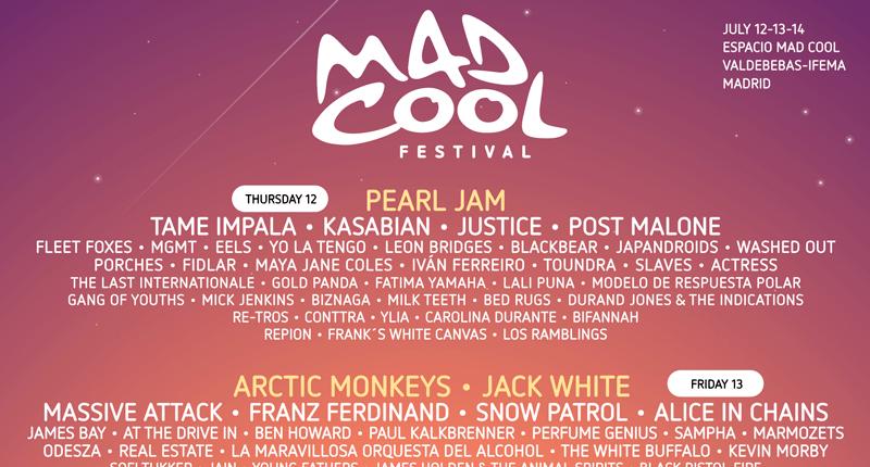 Mad Cool 2018 completa su cartel