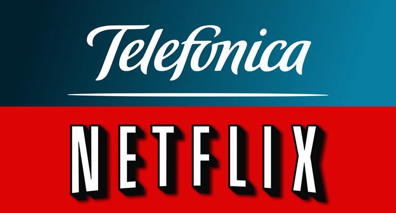 Acuerdo entre Telefónica y Netflix