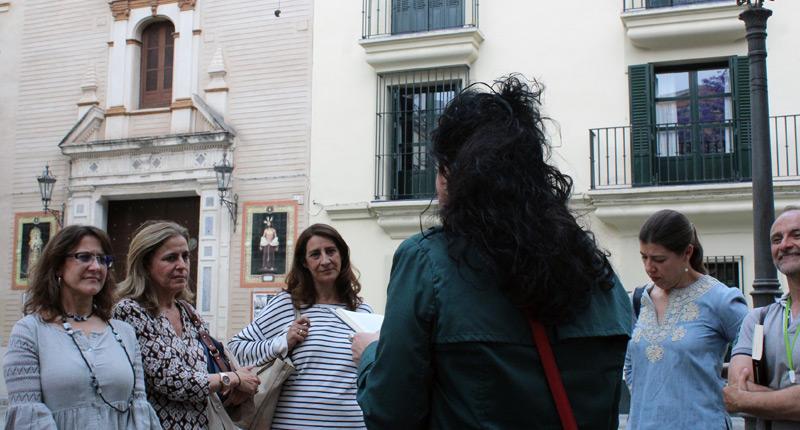 Murillo redivivo en las calles de Sevilla