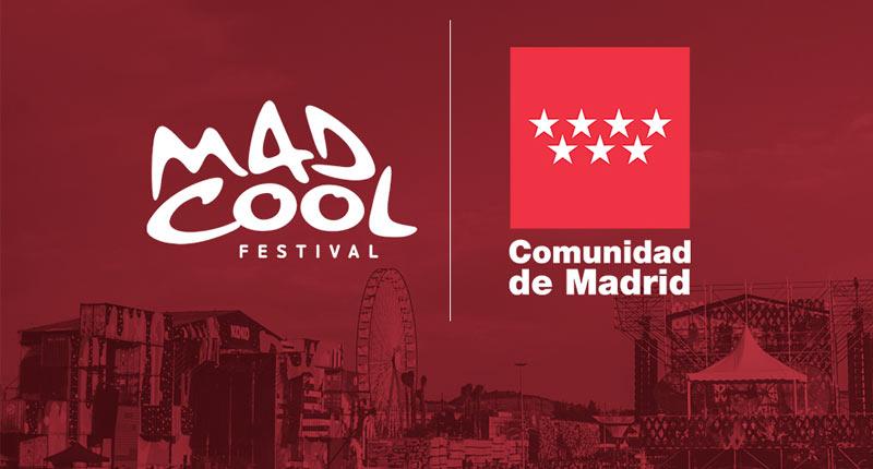 Mad Cool y Comunidad de Madrid unidos un año más