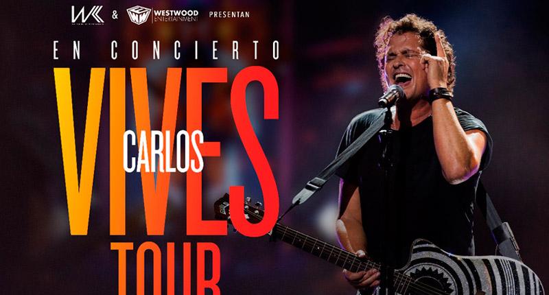 Carlos Vives anuncia actuaciones en España