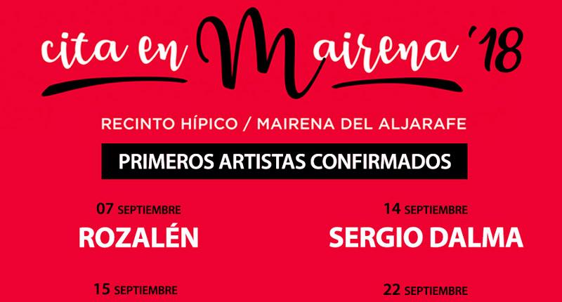 El II Festival Cita en Mairena se celebra en septiembre