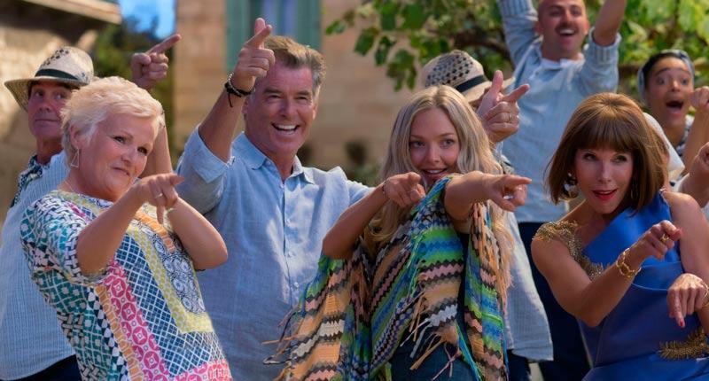 Estrenos: La secuela de la exitosa Mamma Mia acapara el interés de la cartelera semanal