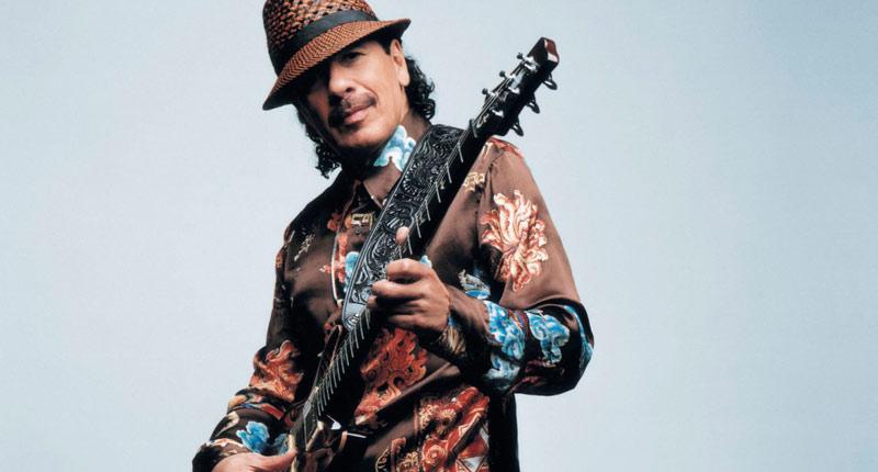 Carlos Santana llega a España
