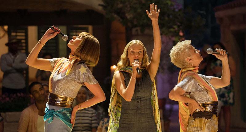 Mamma Mia: Una y otra vez, una buena secuela de un éxito cinematográfico