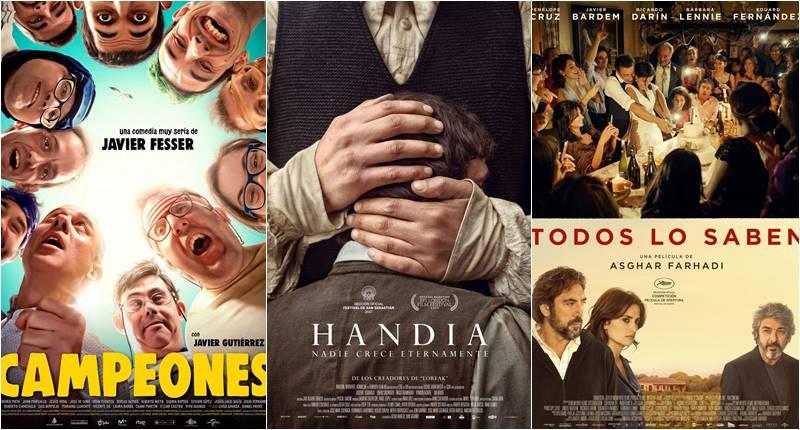 Campeones, Handia y Todos lo saben, preseleccionadas para los Oscar
