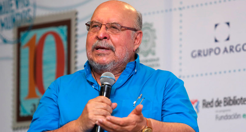 Elkin Restrepo, Premio León de Greiff al Mérito Literario 2018