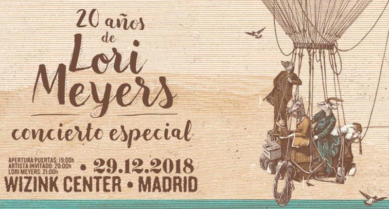 Lori Meyers celebra su 20 aniversario en Madrid