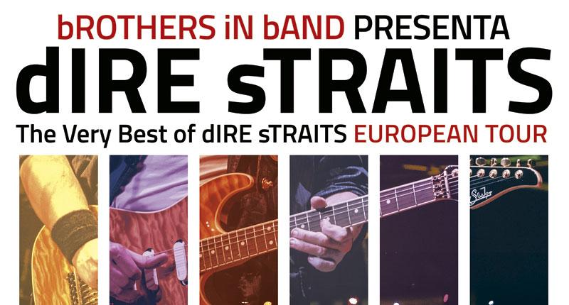 bROTHERS iN bAND, la banda tributo a Dire Straits, actúa en Sevilla en noviembre