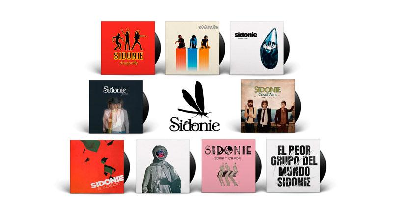 Sidonie reedita su discografía por su 20 aniversario