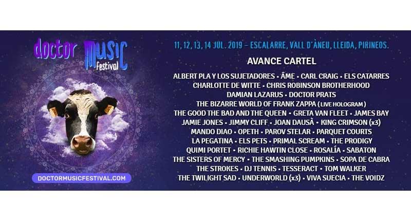 Doctor Music Festival 2019 anuncia sus primeros nombres