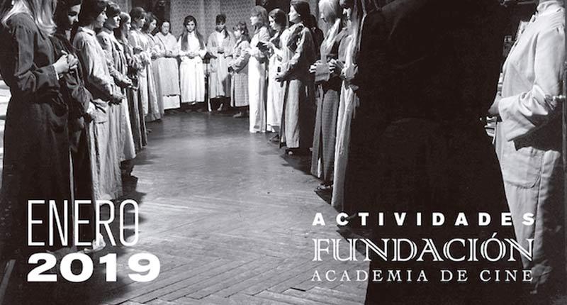 Los Premios Goya protagonizan la programación de la Academia en enero