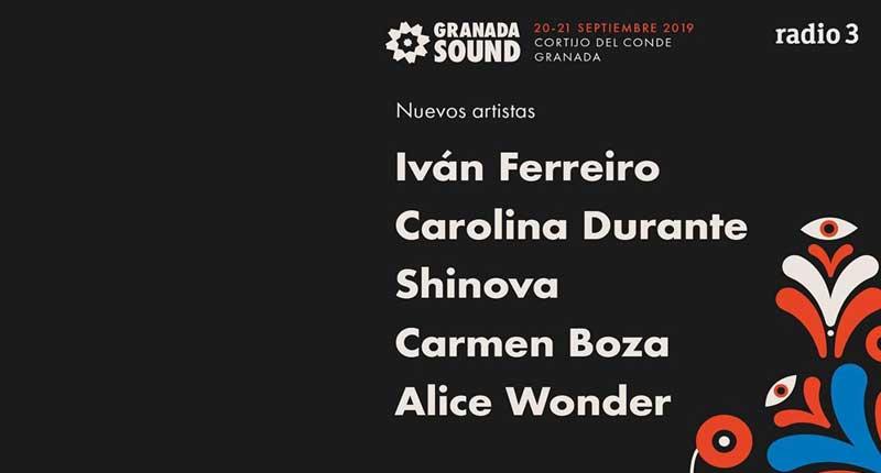 Cinco nuevas confirmaciones para Granada Sound