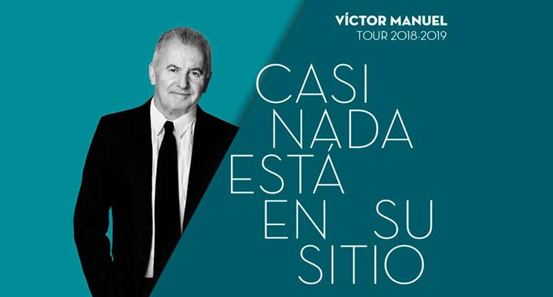 """Víctor Manuel: """"Escribiendo canciones es con lo que más me divierto"""""""