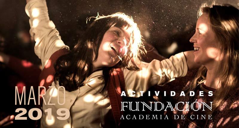Las mujeres protagonizan las actividades de la Fundación Academia de Cine en marzo