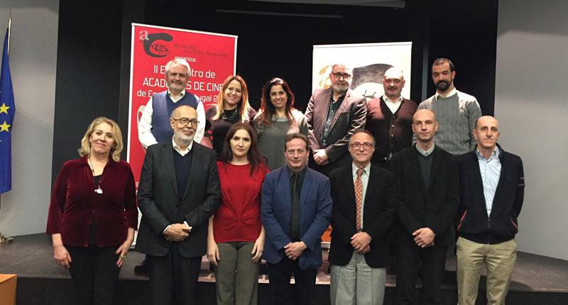 ASECAN participa en el II Encuentro de Academias de Cine de España y Portugal