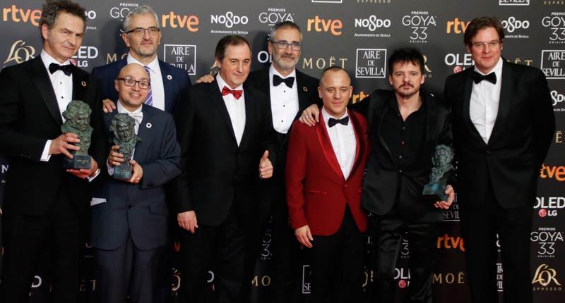Campeones y El reino triunfadoras de los Goya 2019