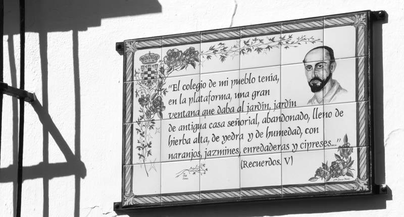 Moguer se vuelca con su Feria de Época y Juan Ramón Jiménez