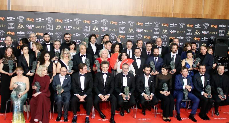 Premios Goya 2019, el Reino de los Campeones