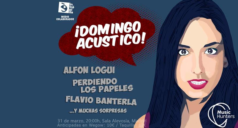 MusicHunters presenta su 'Domingo Acústico'