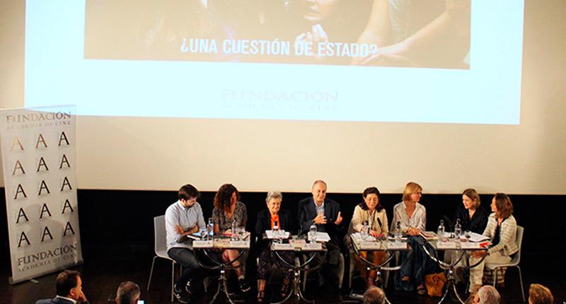 La Academia celebra con éxito la mesa redonda 'Cine y Educación, ¿una cuestión de Estado?'