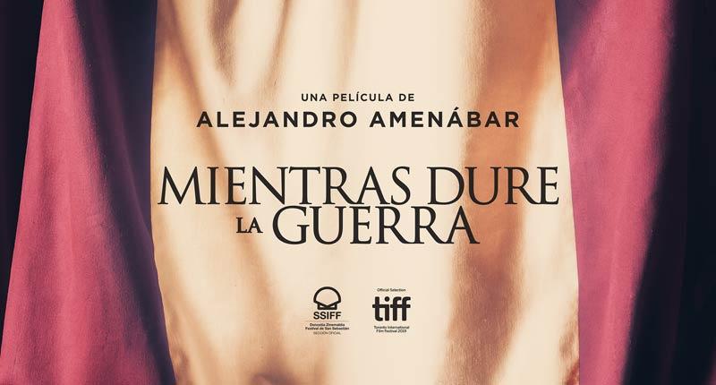 Alejandro Amenábar inicia la presentación internacional de 'Mientras dure la guerra'