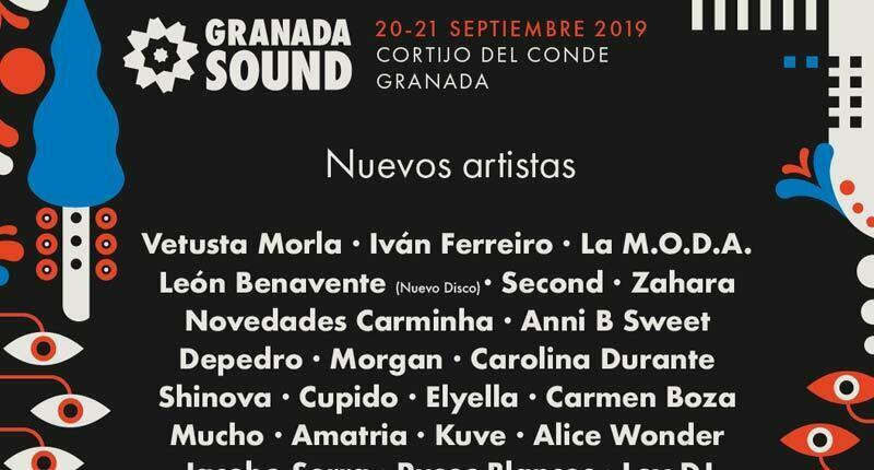 Granada Sound anuncia 17 nuevas confirmaciones