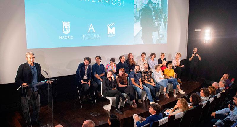 Arranca Residencias Academia de Cine con la presentación de sus creadores