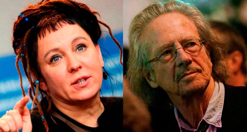Olga Tokarczuk y Peter Handke, premios Nobel de Literatura 2019