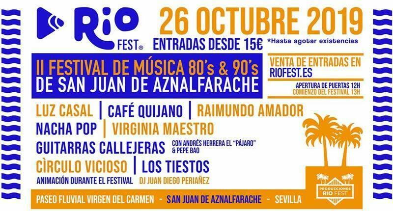 El Riofest 2019 ya tiene nueva fecha para su celebración