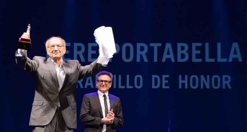 Pere Portabella recibe el reconocimiento del Festival de Cine de Sevilla