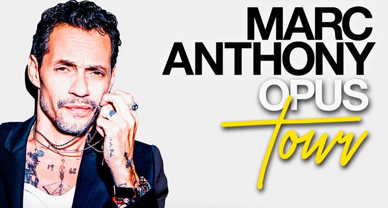 Marc Anthony llega a España el próximo año con el Opus Tour