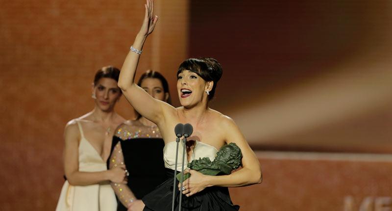 Veintinueve premios entregados en unos Goya con récord de audiencia