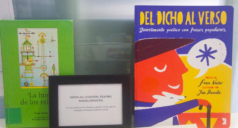 La Red Municipal de Bibliotecas de Sevilla acoge una exposición sobre Fran Nuño