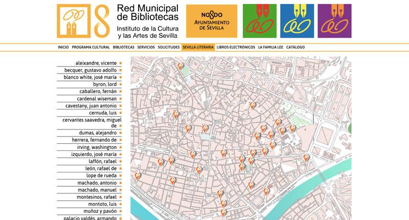 El Ayuntamiento de Sevilla ofrece un recorrido virtual a través de 'Sevilla literaria'
