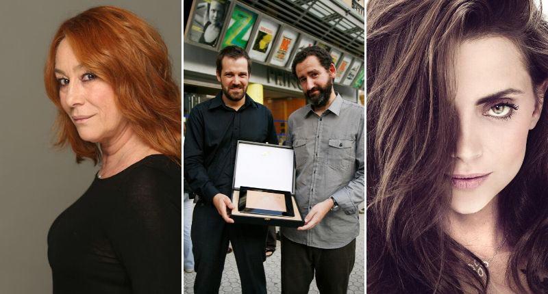 Gracia Querejeta, Jon Garaño, Jose Mari Goenaga y Macarena Gómez, en #NuestroCineNosUne
