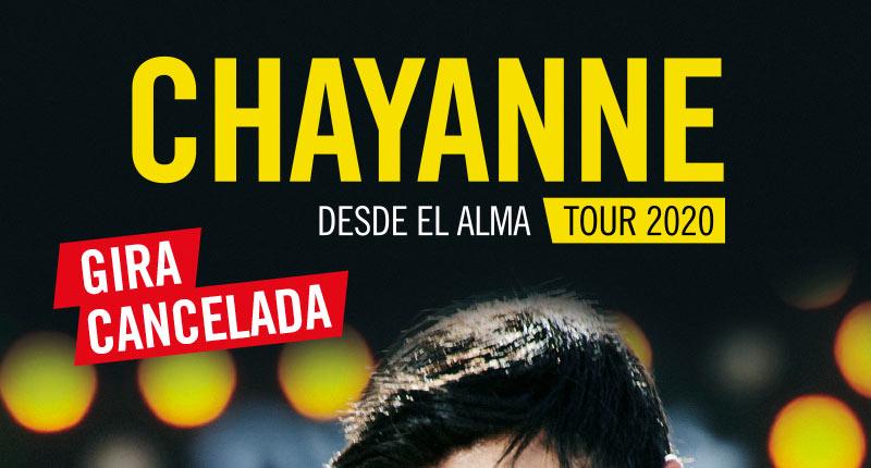 Chayanne cancela definitivamente su gira en España