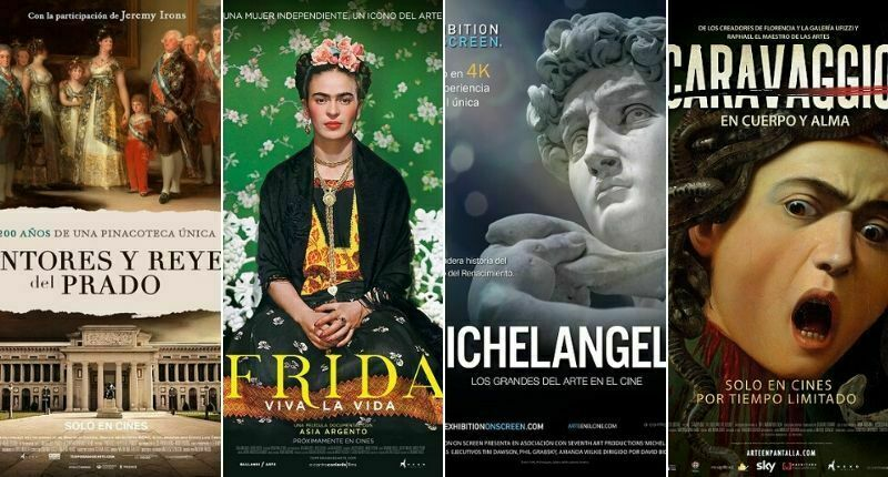 Sala Virtual de Cine presenta en exclusiva Arte en pantalla